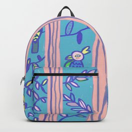 Tropical Curtains 2 Backpack