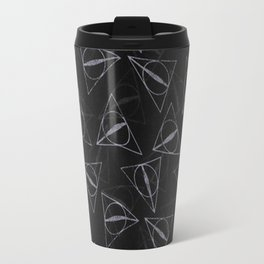 deathly hollow pattern Travel Mug