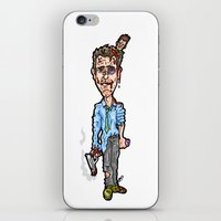 tyler durden iPhone & iPod Skins featuring Edward Norton and Brad Pitt as Tyler Durden in...  The Fight Club Cartoon!  by beetoons