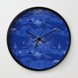Savannah Moondance Wall Clock