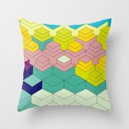 Eighties Throw Pillow