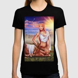 Sagittarius OC - 12 Zodiac Ladies T-shirt