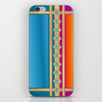 decorative iPhone & iPod Skins featuring Decorative by elledeegee