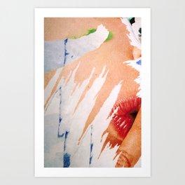 Chut ! Quiet ! Art Print