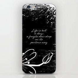 John Keats - Life is but a Day iPhone Skin