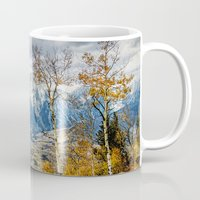 gore Mugs featuring Colorado Autumn by AwakeningLight