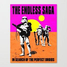 The Endless Saga Canvas Print