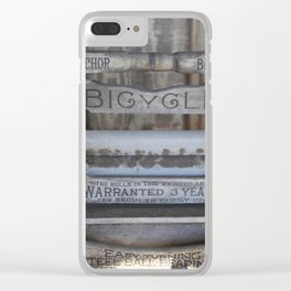 Grandma's Washer Clear iPhone Case