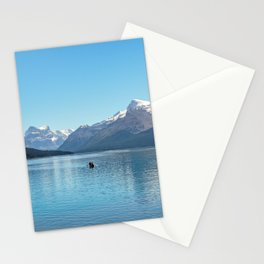 Serenity at Lake Maligne Stationery Cards