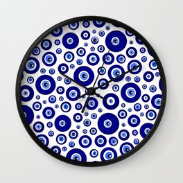 Evil eye Nazar Wall Clock