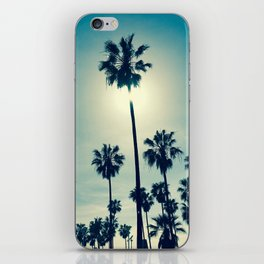 Chillin' palms iPhone Skin