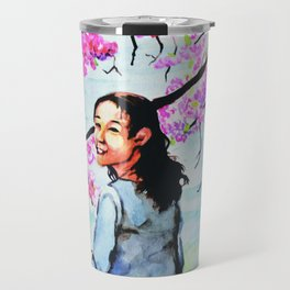 Blossom Smile Travel Mug