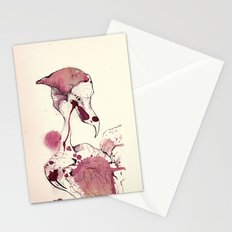 Hoploid Heron Stationery Cards