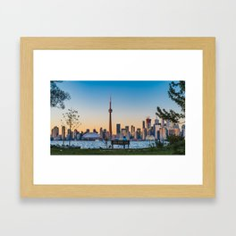 Toronto Island Park Framed Art Print