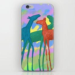 Horses in nature iPhone Skin