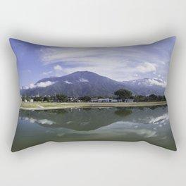 El Ávila reflejado Rectangular Pillow