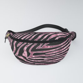 Tiger Stripes Rose Gold Fanny Pack