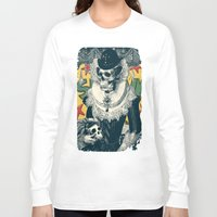 lady Long Sleeve T-shirts featuring Lady by Ali GULEC