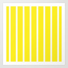 Pillow pattern #striped Art Print