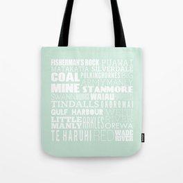 Hibiscus Coast - Version One Tote Bag