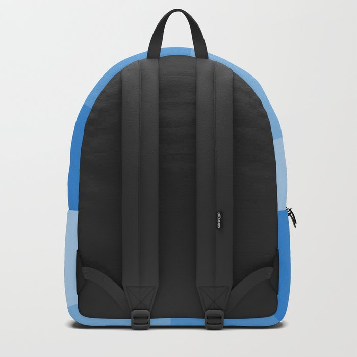 Four Shades of Blue Backpack