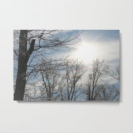 Icy Sunshine Metal Print