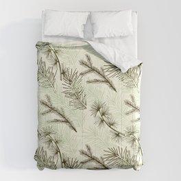 Christmas tree pattern. Comforters