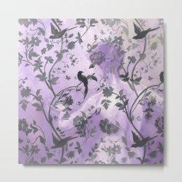 Wallflower (in Violet) Metal Print