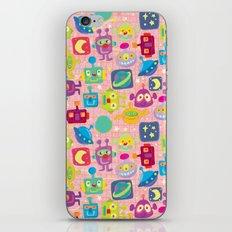 sweet bots iPhone & iPod Skin