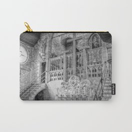 Church Chapel Black & White Carry-All Pouch