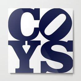 Coys Metal Print