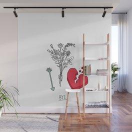 Farewell, my love Wall Mural