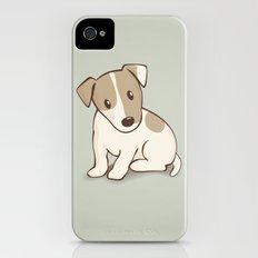 Jack Russell Terrier Dog Illustration Slim Case iPhone (4, 4s)
