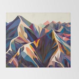 Mountains original Throw Blanket