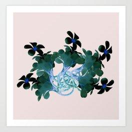 Marine halo Art Print