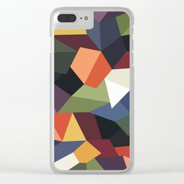 FALLING ROCKS Clear iPhone Case