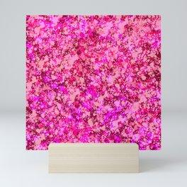 Spring Cherry Blossom Sakura Abstract Painting Mini Art Print
