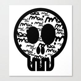 MOOIMOOI SKULL Canvas Print