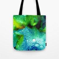 splash Tote Bags featuring Splash by Stephanie Koehl