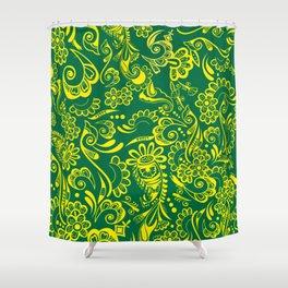 FLAG - BRAZIL ONE Shower Curtain