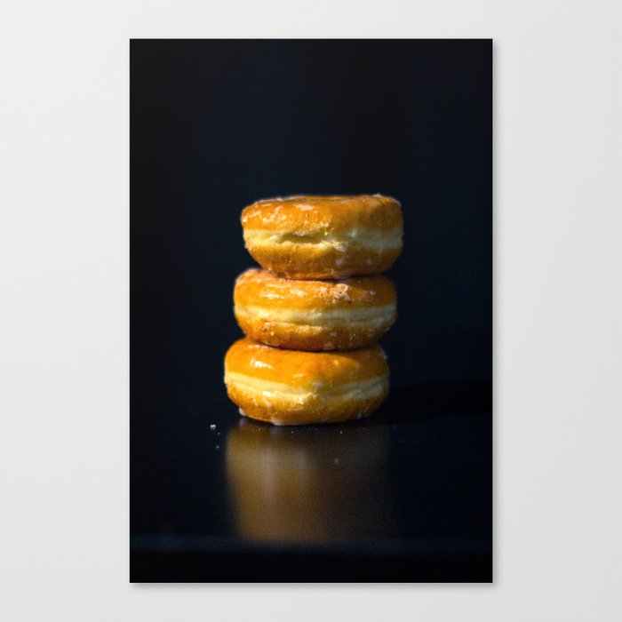 Glazed Donuts Canvas Print