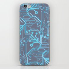 1982 Blue iPhone & iPod Skin