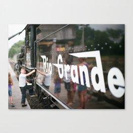 Rio Grande #464 Series: 3 Canvas Print