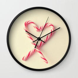 Candy Kiss Wall Clock