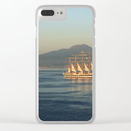 Sailing in Italy Clear iPhone Case
