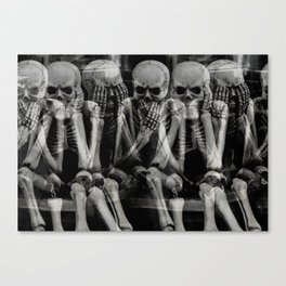 The Bench of Regrets Canvas Print