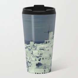 Santorini, Greece 2 Travel Mug