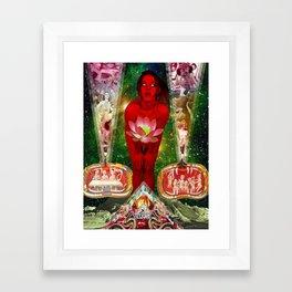 Vivian Volcano Framed Art Print