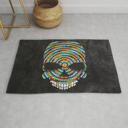Hypnotic Skull Rug