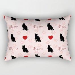 I love cats Rectangular Pillow